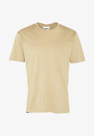 UNISEX POCKET - T-shirts basic - desert sand