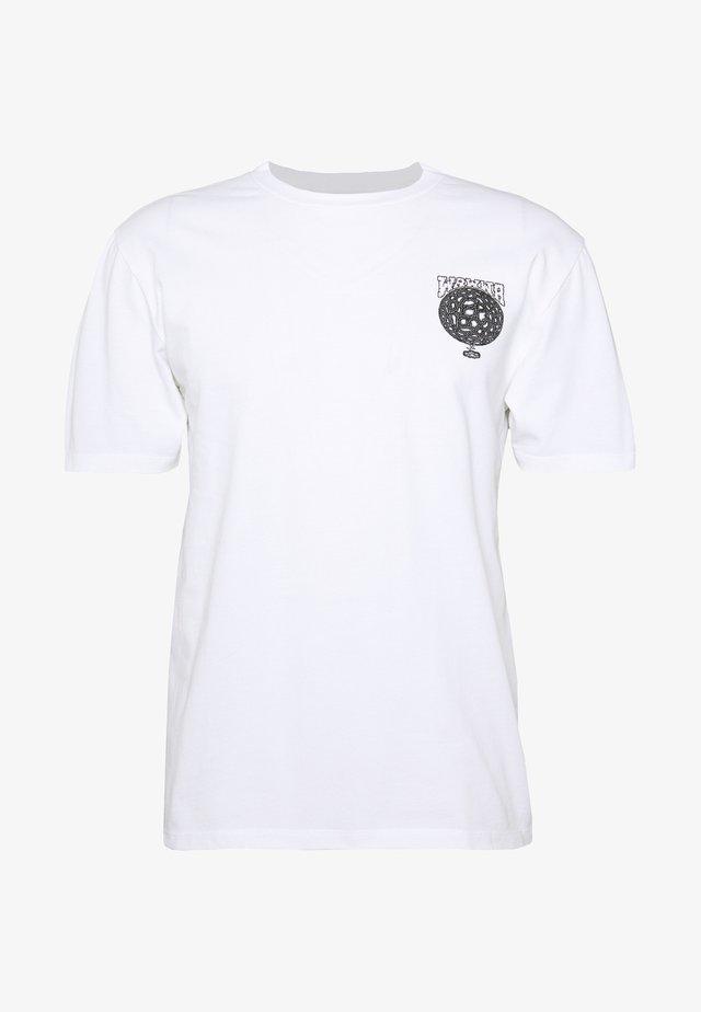 WAWWA SOUL DESERT GRAPHIC  - Print T-shirt - white