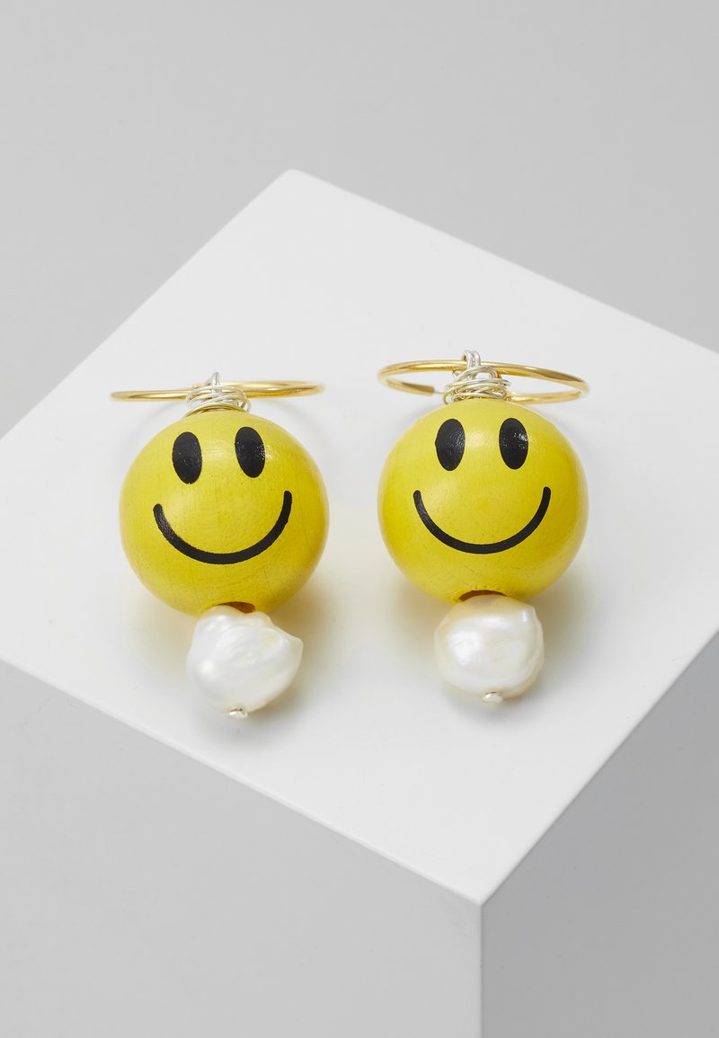 WALD - DUDE EARRINGS - Earrings - yellow