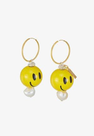 DUDE EARRINGS - Earrings - yellow