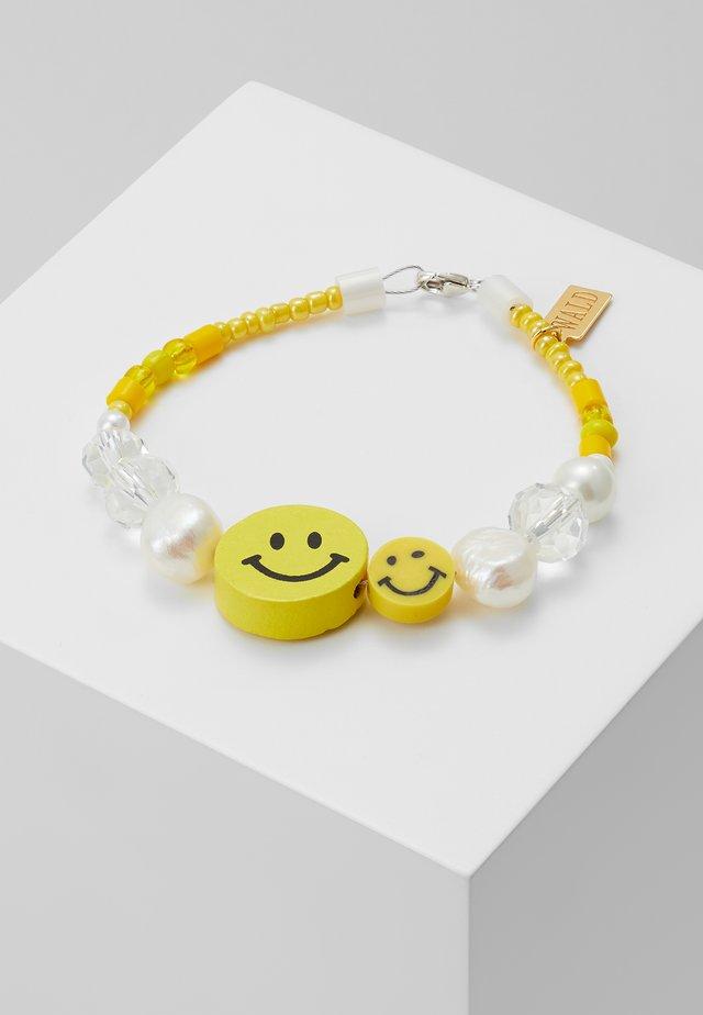 DUDE TWO BRACELET - Bransoletka - yellow