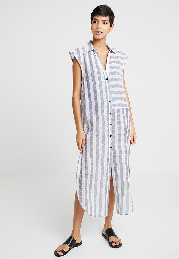 watercult - SEAFARER DRESS - Strandaccessoar  - white/navy