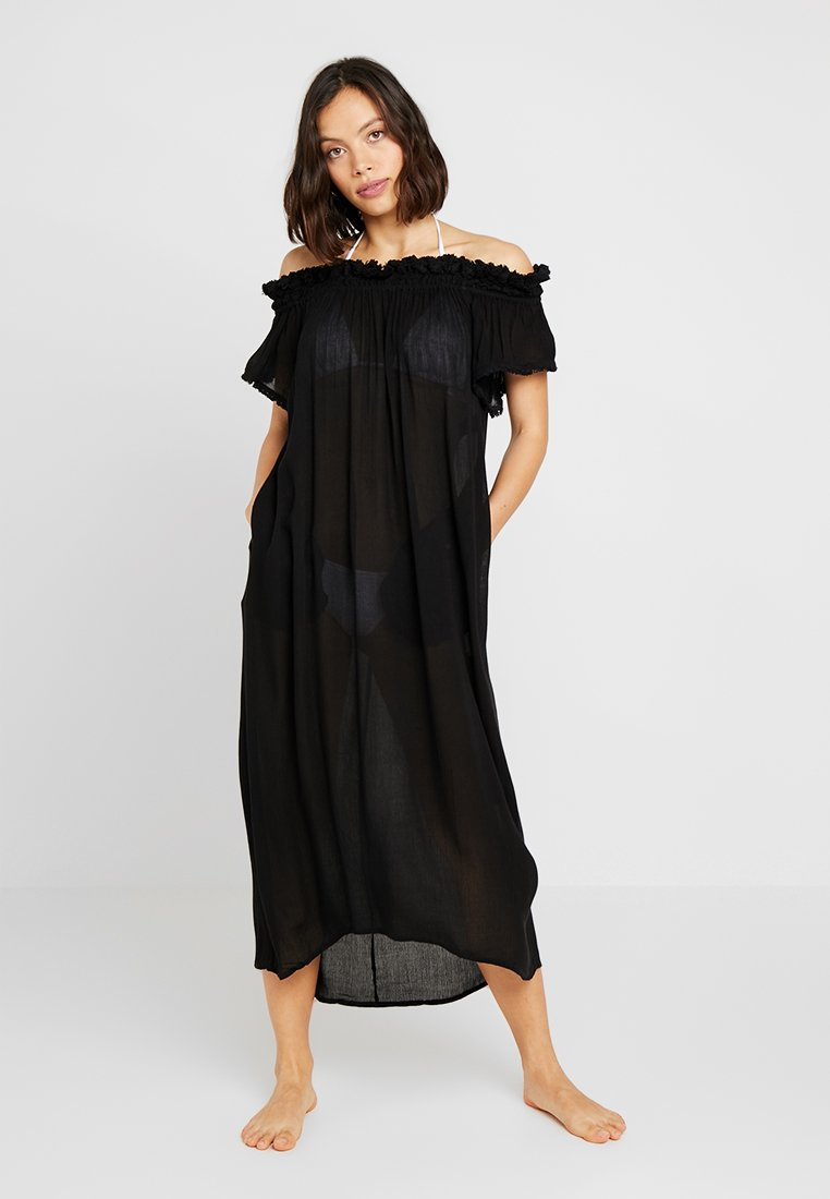 watercult - COVER UP DRESS - Beach accessory - black