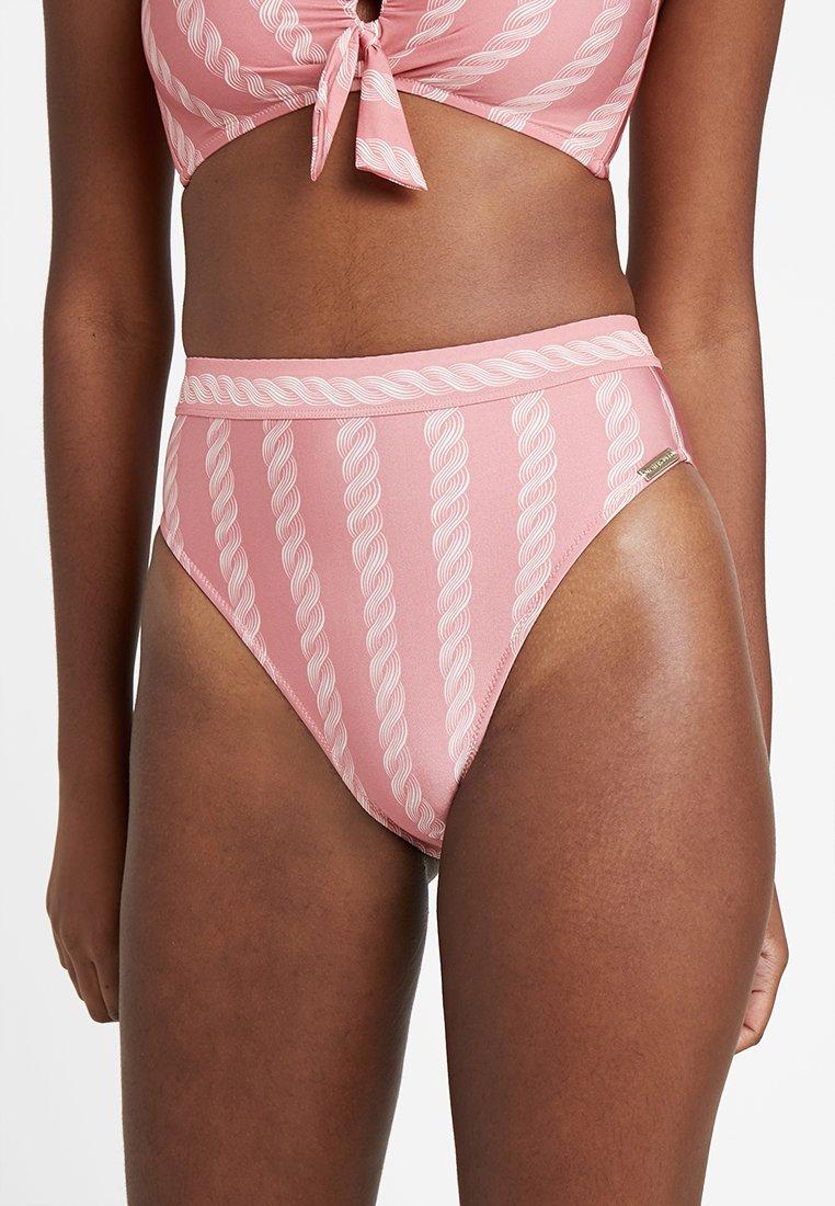 watercult - SOFT RETRO BOTTOM - Bikini bottoms - cherry blush