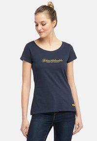 Schmuddelwedda - Camiseta estampada - dark marine - 1