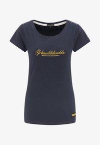 Schmuddelwedda - Camiseta estampada - dark marine - 3