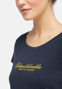 Schmuddelwedda - Camiseta estampada - dark marine - 2