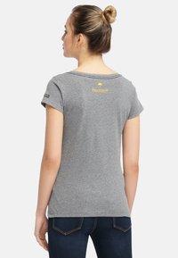 Schmuddelwedda - Camiseta estampada - grey melange - 2
