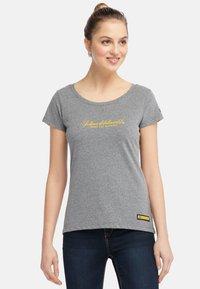 Schmuddelwedda - Camiseta estampada - grey melange - 0