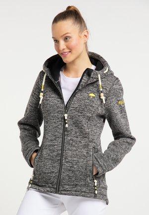 Fleece jacket - anthracite melange