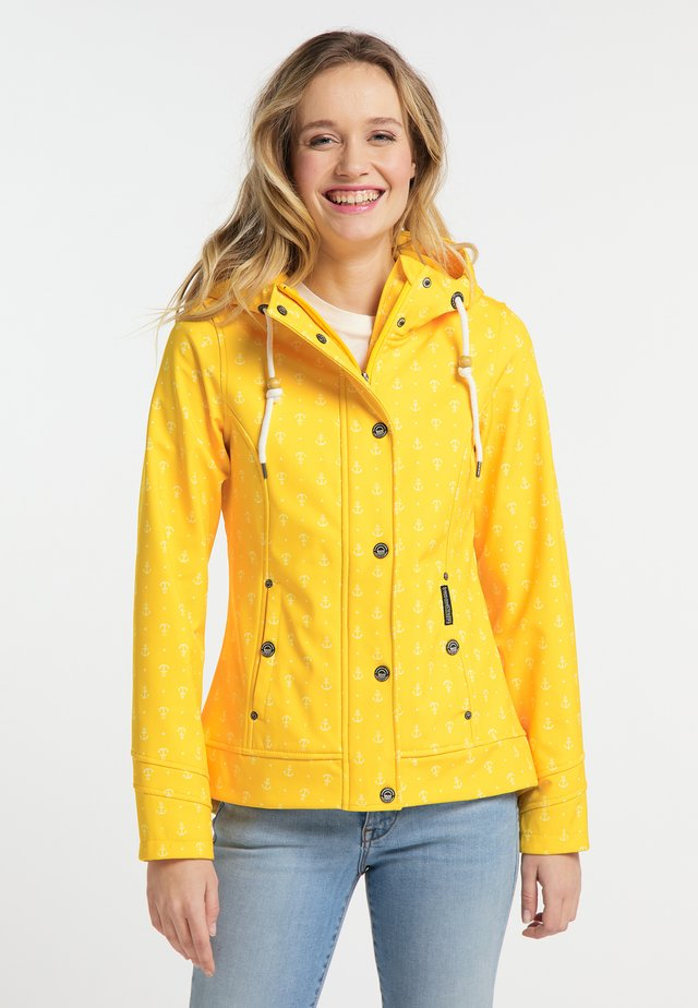 Outdoor jakke - yellow