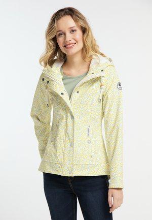 Waterproof jacket - smoke mint