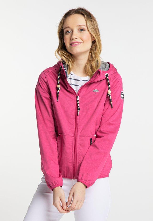 Giacca outdoor - dark pink
