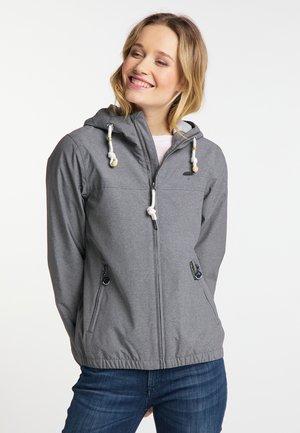 Outdoor jacket - grey melange