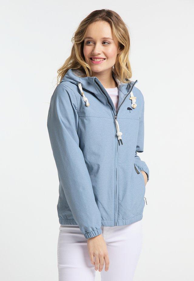 Kurtka Outdoor - jeans blue mel