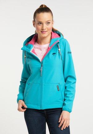 Outdoor jacket - turquoise