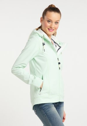 Veste imperméable - pastel mint