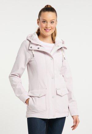 SCHMUDDELWEDDA SOFTSHELLJACKE - Summer jacket - pastellrosa