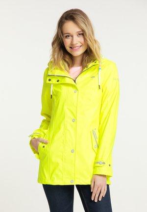 Waterproof jacket - neongelb