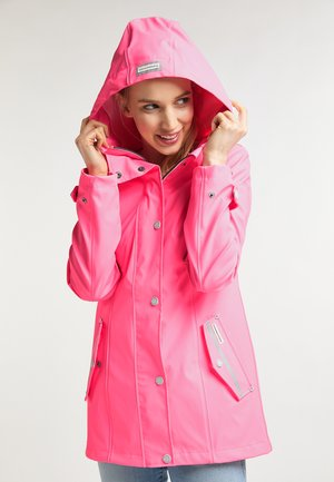 Waterproof jacket - neonpink