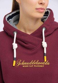Schmuddelwedda - Hoodie - burgundy - 3