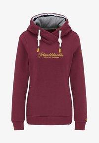 Schmuddelwedda - Hoodie - burgundy - 4