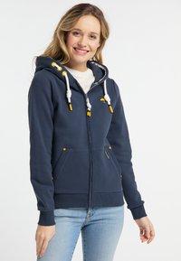 Schmuddelwedda - Zip-up hoodie - marine - 0