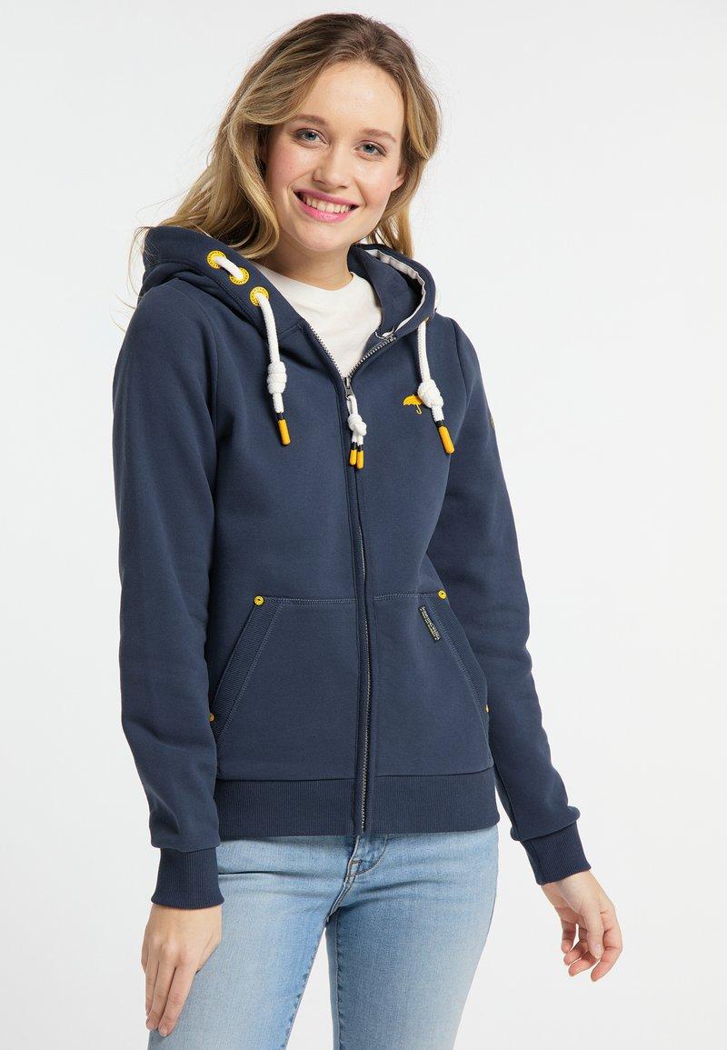 Schmuddelwedda - Zip-up hoodie - marine