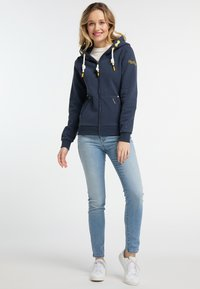 Schmuddelwedda - Zip-up hoodie - marine - 1