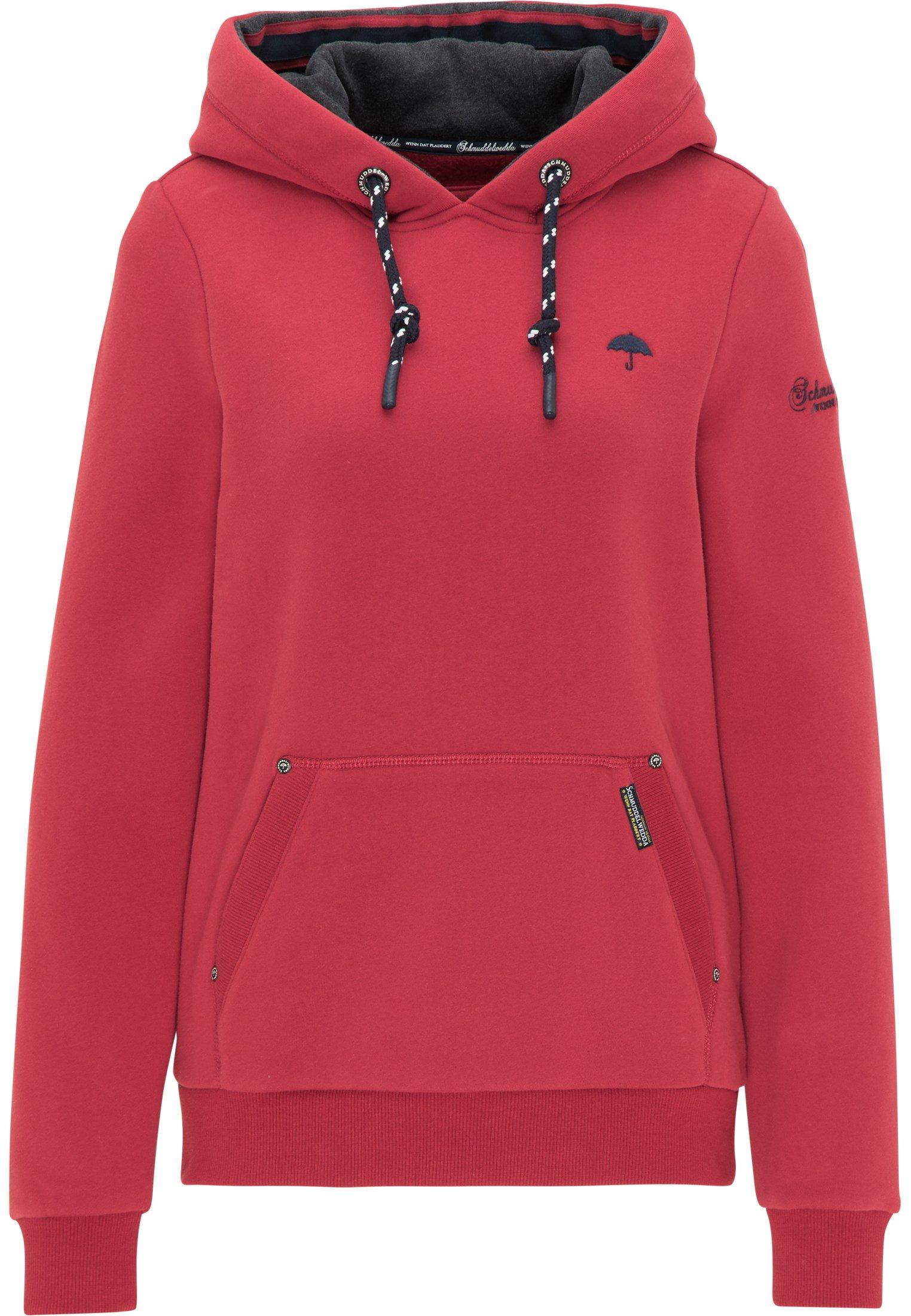 Abercrombie & Fitch EXPLODED LOGO GIFTABLE - Bluza z kapturem - red