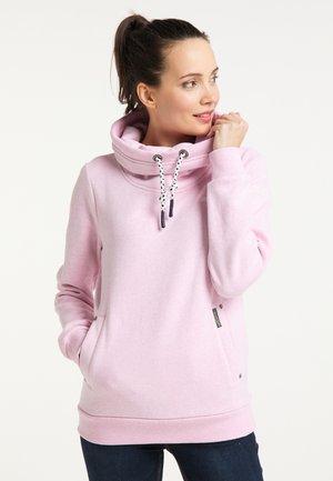 Sweatshirt - rosa melange