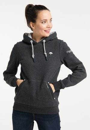 Jersey con capucha - dunkelgrau melange