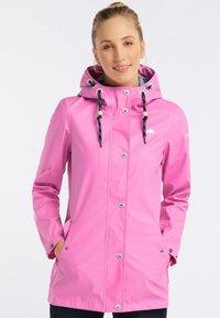 Schmuddelwedda - Regenjacke / wasserabweisende Jacke - pink - 0