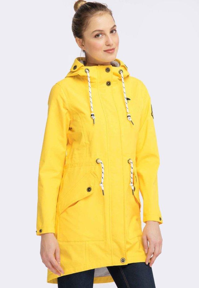 Parka - mottled yellow