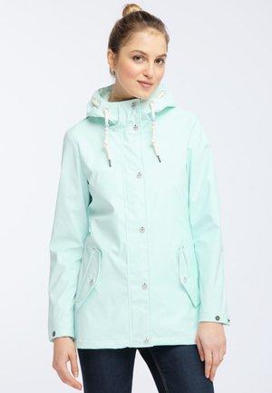 Waterproof jacket - pastel mint