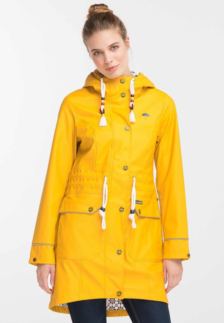 Schmuddelwedda - Parka - mustard yellow