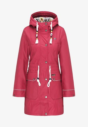 Parka - dark red