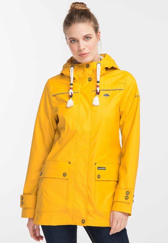 Parkaer - mustard yellow