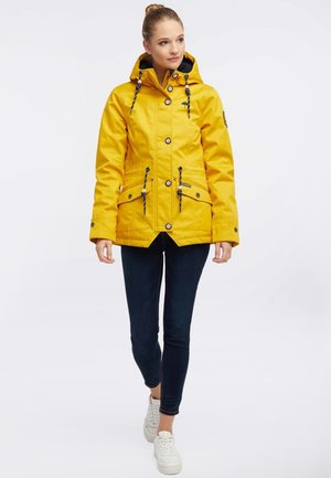 Impermeable - mustard yellow