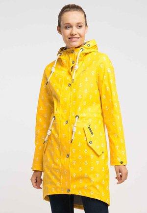 Parka - yellow aop