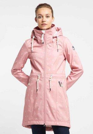 Parka - smoke pink aop