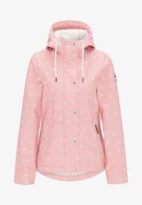 Schmuddelwedda - ANORAK - Waterproof jacket - light pink - 4