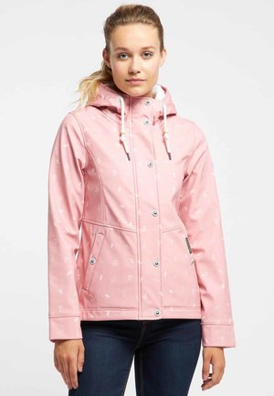 ANORAK - Waterproof jacket - light pink