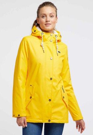 Abrigo de invierno - yellow