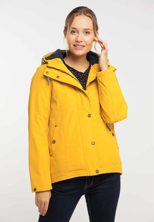 Waterproof jacket - mustard