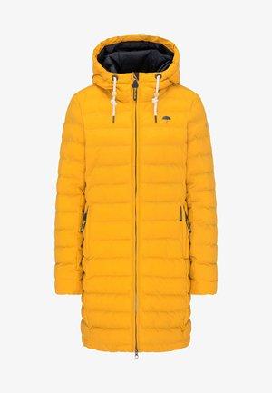 Abrigo de invierno - mustard