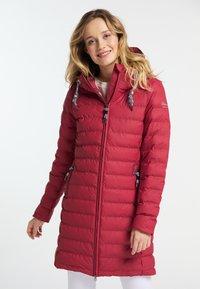 Schmuddelwedda - Winter coat - red - 0