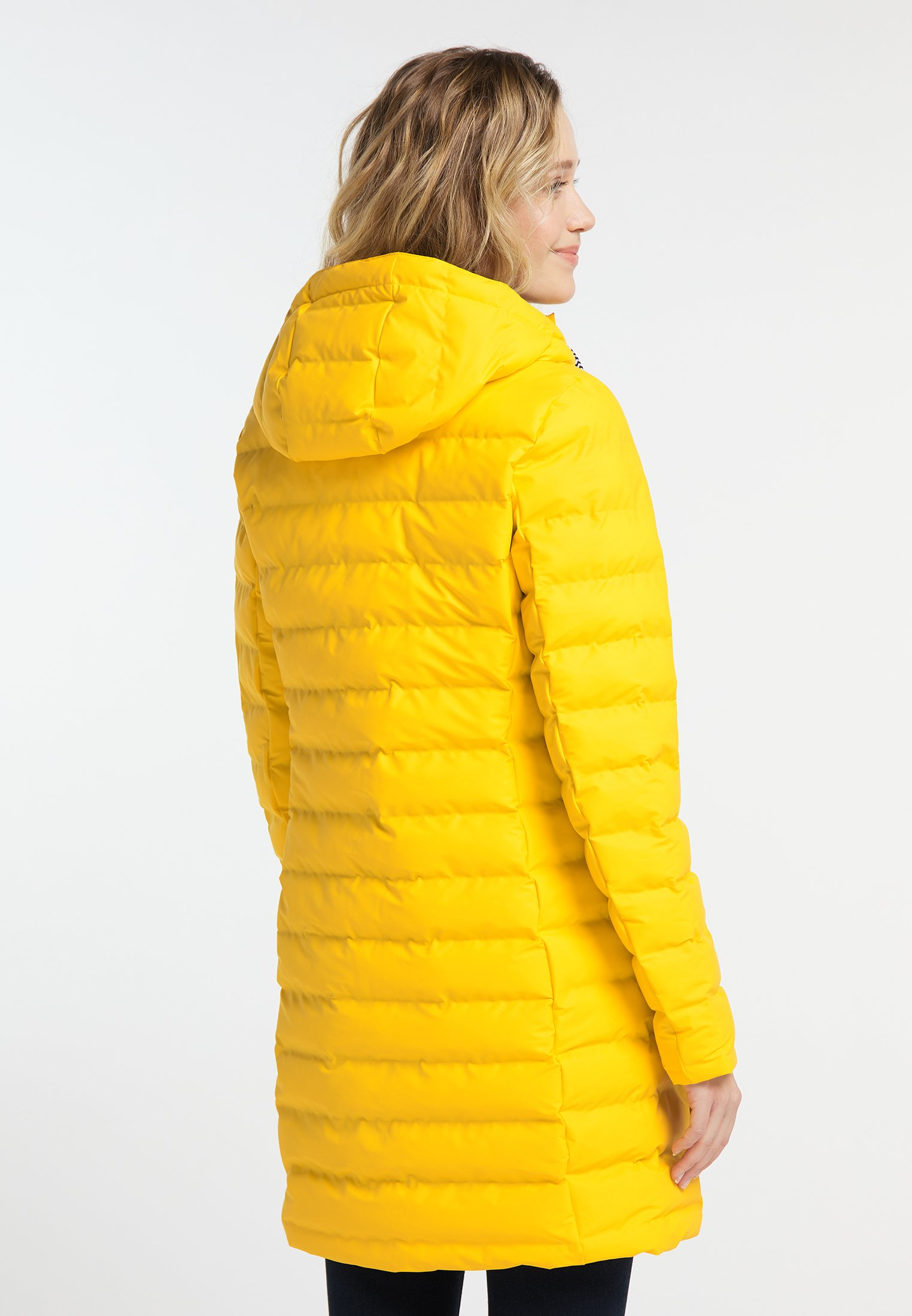Schmuddelwedda Płaszcz zimowy - yellow