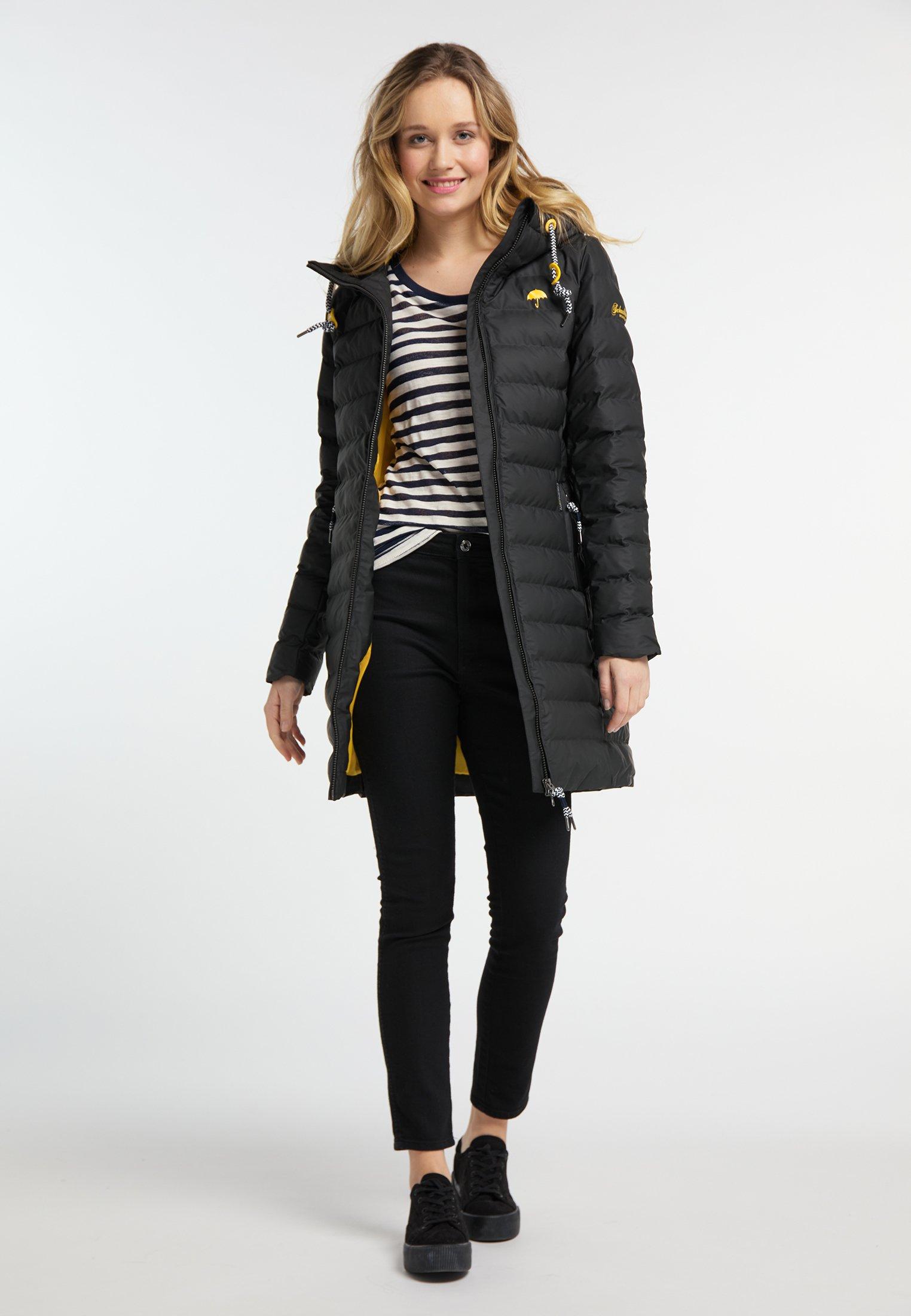 Schmuddelwedda Płaszcz zimowy - black