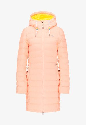 Winter coat - neon orange